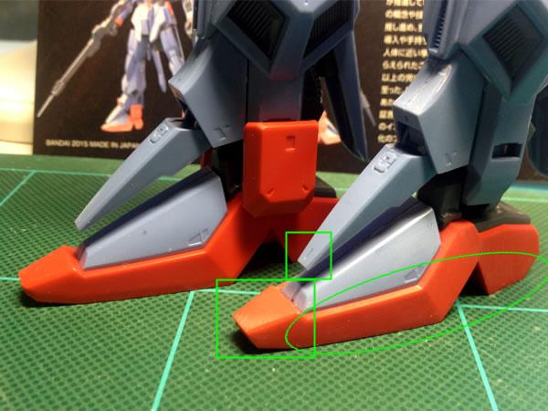 RE ガンダム Mk-3 製作01