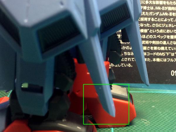 RE ガンダム Mk-3 製作02