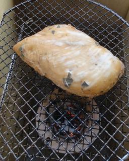 201503 とり胸肉を乾燥させる