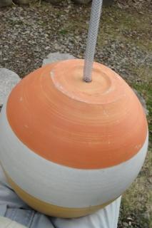 201504 鉢にホースをセット