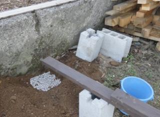 201504 薪小屋2 基礎工事2