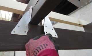 201505 薪小屋 屋根基礎固定金具