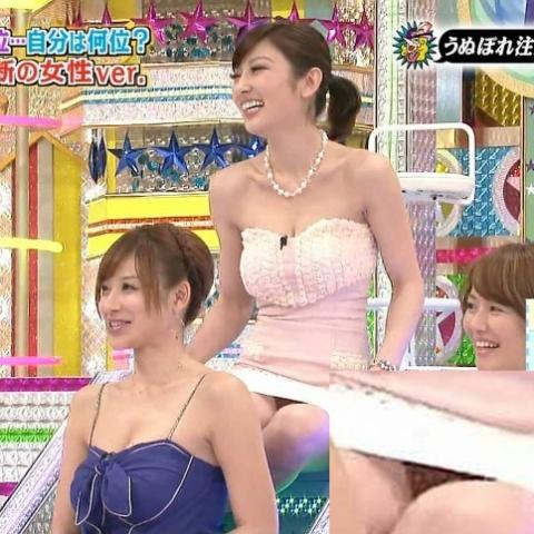 (TVハプニング)あいどる達のパンツがハッキリ見えたぜぇーwwwwwwやっぱ色っぽいで超最高だわ...