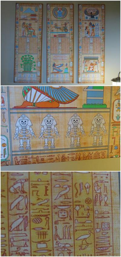 エジプト文字の絵