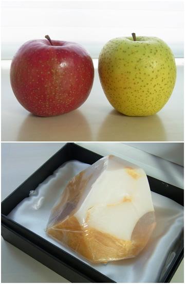 りんご&宝石石鹸