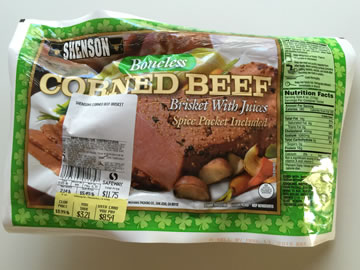 コーンビーフ用のお肉