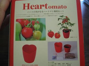 ハートのトマト栽培キット