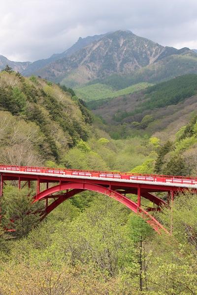 2015.05.28 信州旅行2日目③赤い橋,清泉寮-2