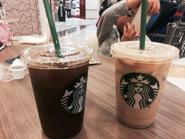 スターバックスのアイスコーヒー