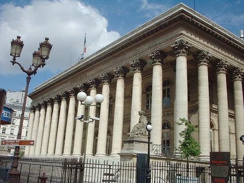 パリの証券取引所