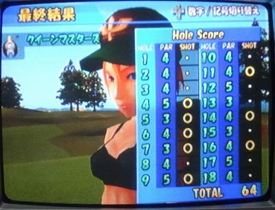わいわいゴルフをプレイ4 (1)