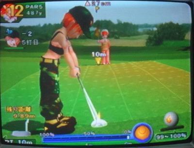 わいわいゴルフをプレイ4 (4)