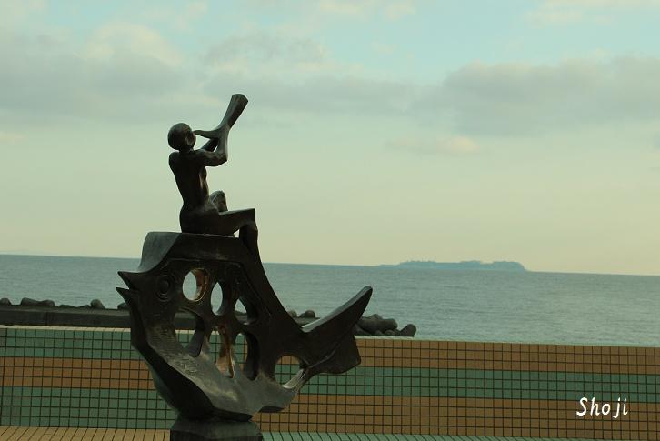 なぎさ公園の彫刻