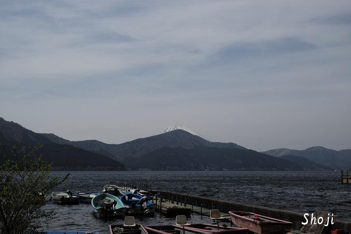 芦ノ湖 海賊船