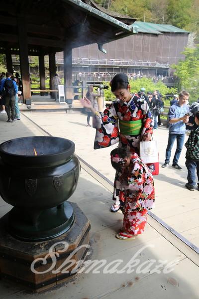 京都清水寺観光