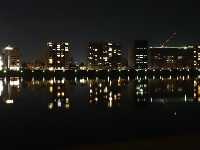 大淀川河畔 夜景 2