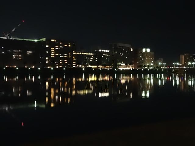 大淀川河畔 夜景 3
