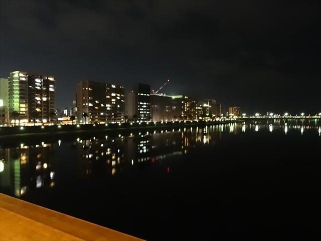 橋からの夜景