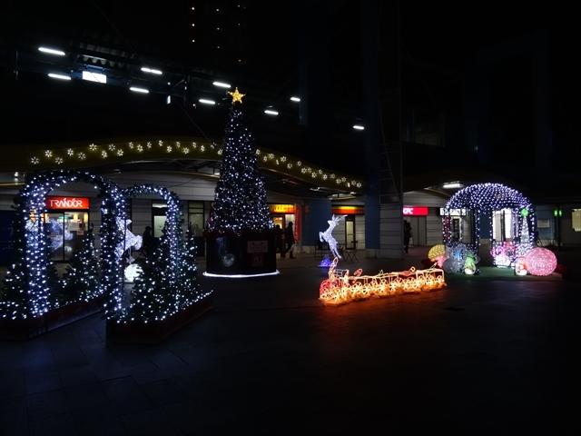 宮崎駅 イルミ 2