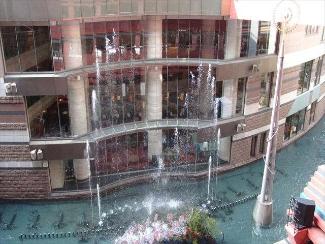 キャナルシティ 噴水