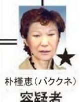 朴槿恵(パククネ)角田三枝子232②④⑤⑥161