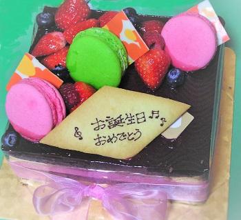 2015誕生日ケーキ