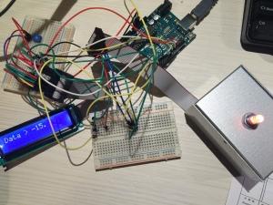 ロータリーエンコーダー実験648468b