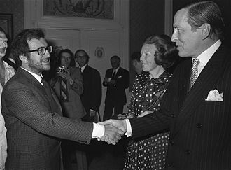 Luciano_Berio,_princes_Beatrix,_prince_Claus_1972