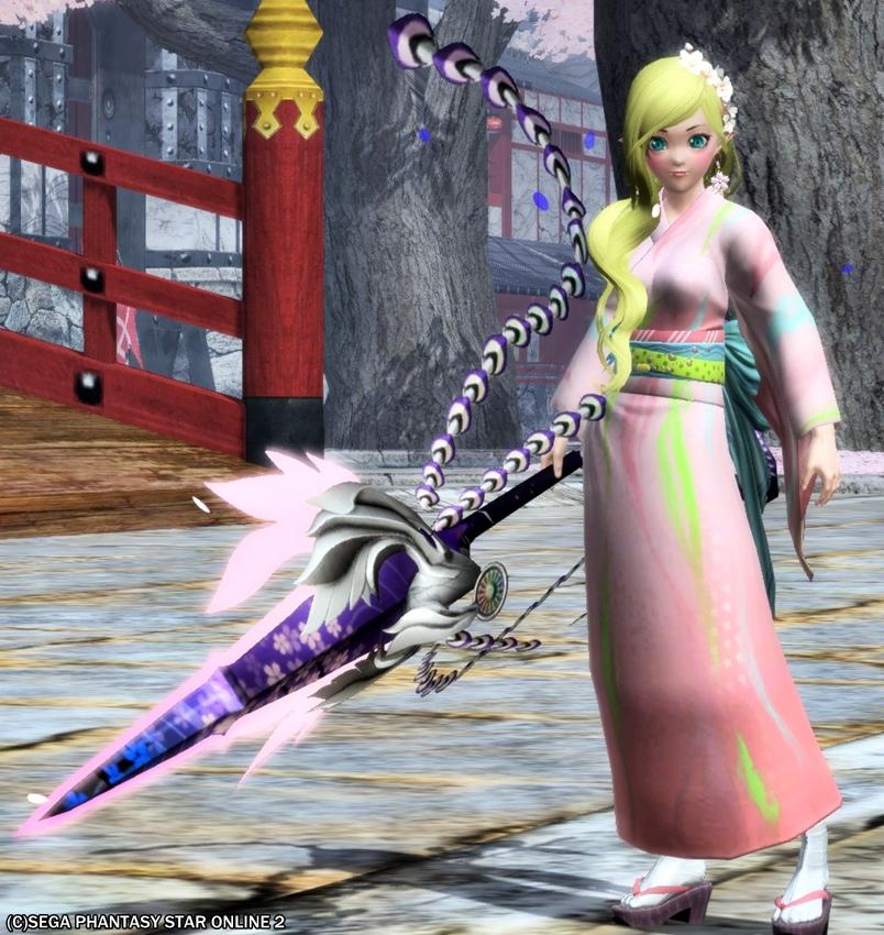 風流な杖、宵白鳳2