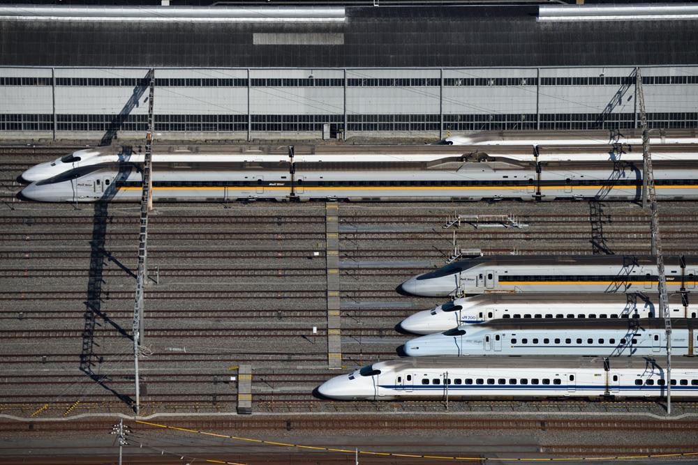 空から鉄道を撮ってみよう