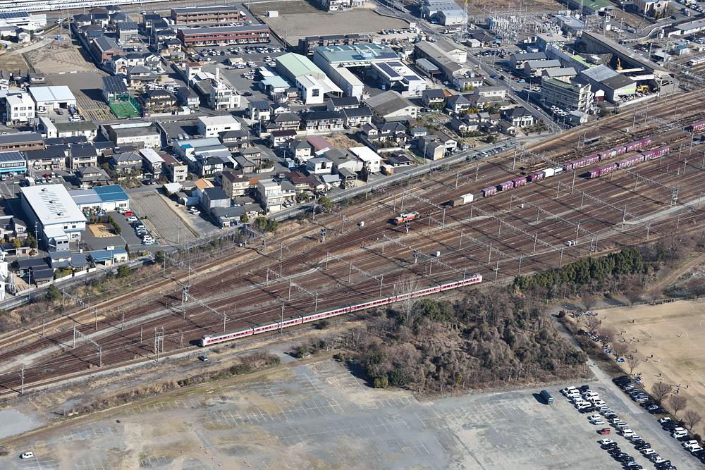 空から鉄道を撮ってみよう その2