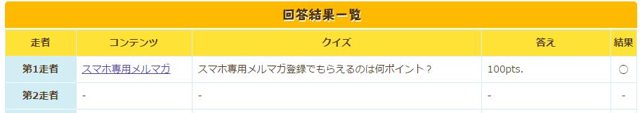 ECナビキャラクタークイズリレー6