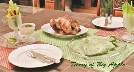 chickenの丸焼き