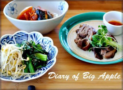 韓国の食卓