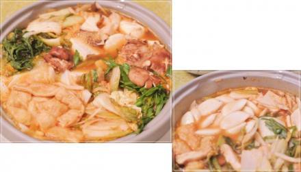 キムチ鍋で