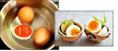 茹で卵の温度計