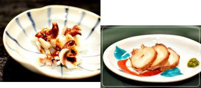 ゲソ&煮蛸