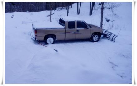 除雪・・・