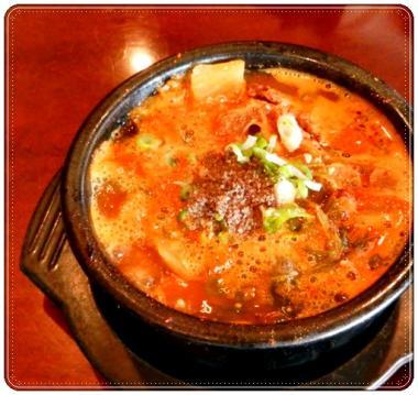 牛の骨を使ったスープ