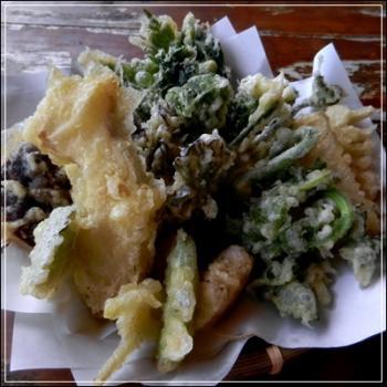 山菜の天麩羅
