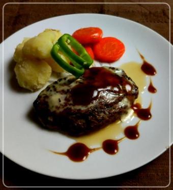 cheeseHamburg steak