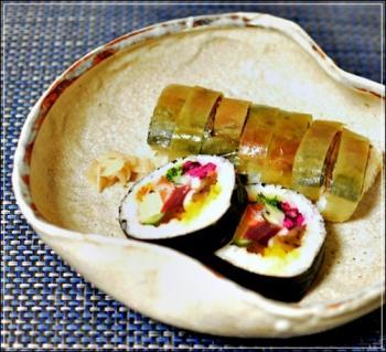 巻き寿司&鯖鮨