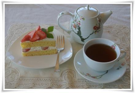紅茶と共に