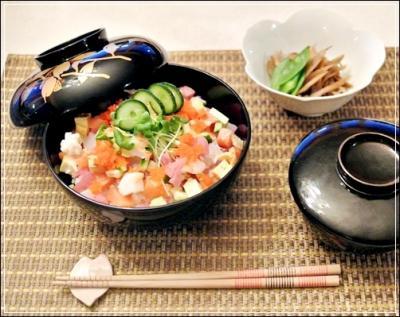 霰ちらし寿司