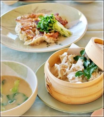 焼売&餃子&soup