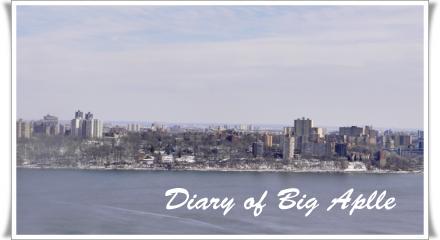 NJからの景色、Manhattan