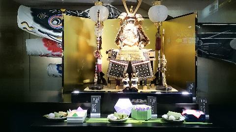 心斎橋・大丸・/鯉のぼり