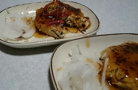 とりミンチで豆腐ハンバーグ