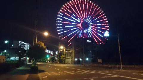 大観覧車・天保山(はれとでる)