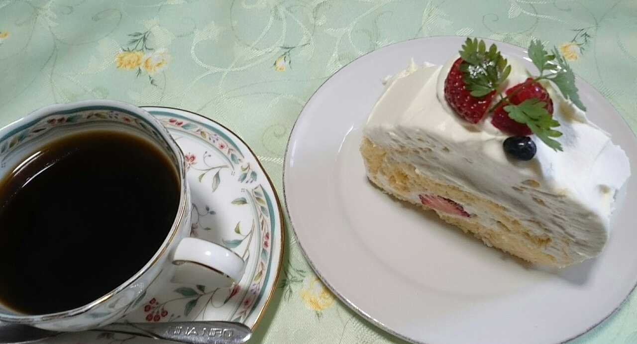 コーヒーとケーキ ②